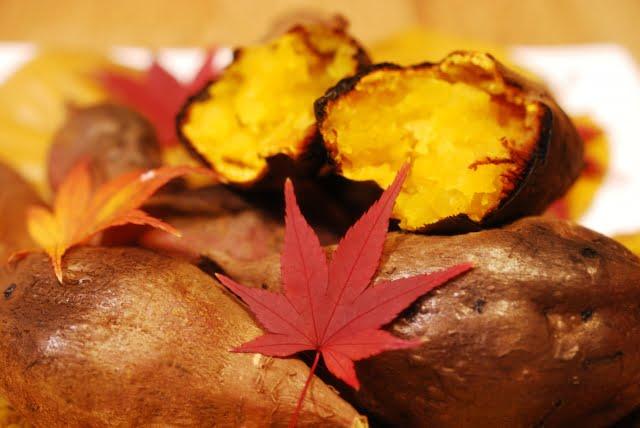 castañas japon , batata y boniato tokio