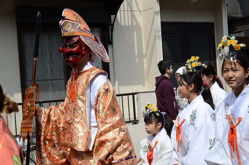 KANAMARA MATSURI (FESTIVAL DEL PENE) Y SUS 3 MIKOSHI
