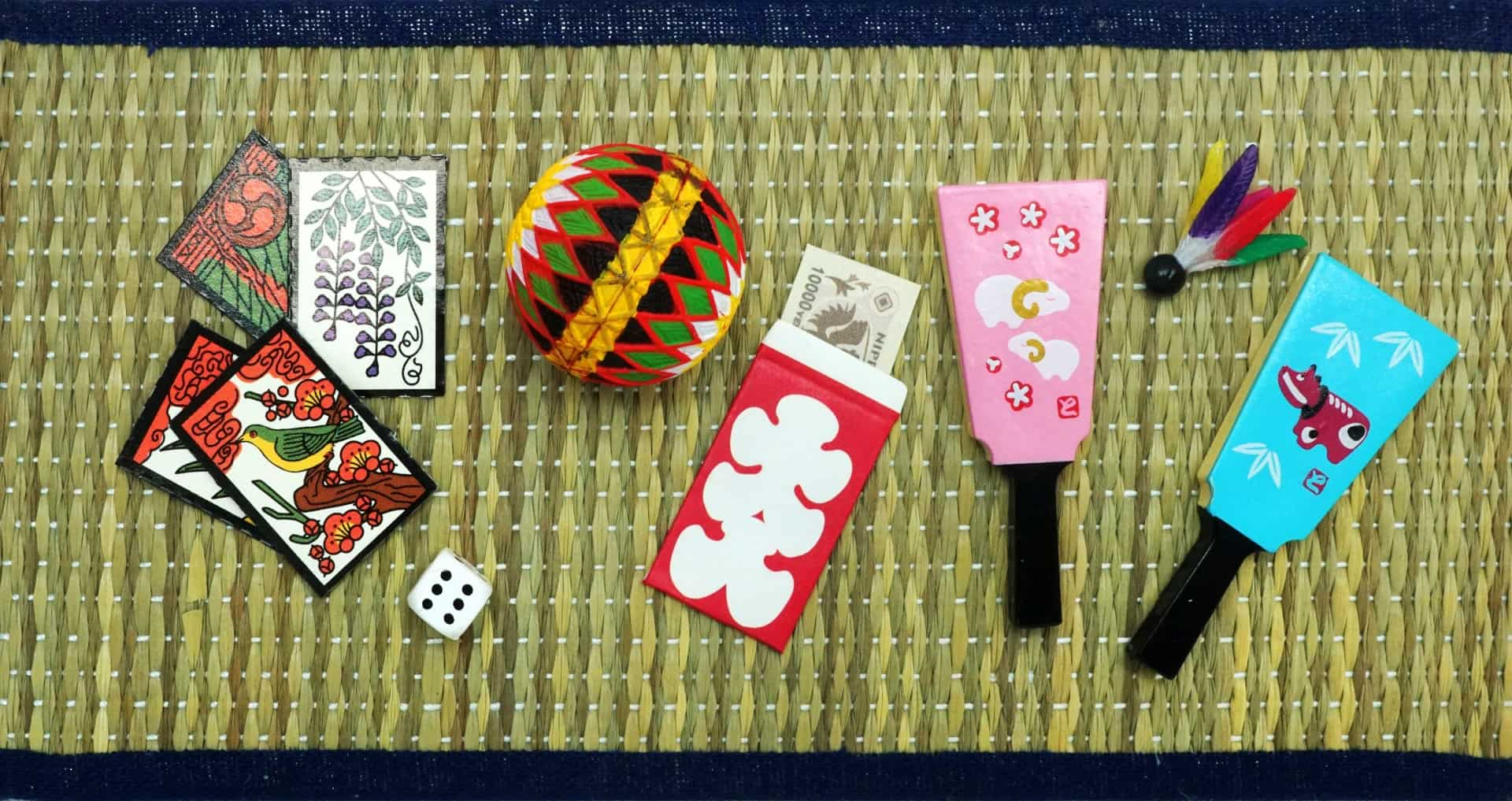 Ochotama, New year japanese games