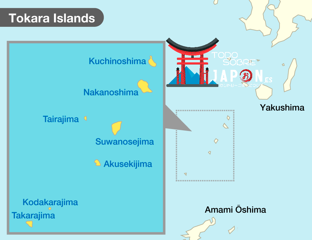 islas tokara, tokara islands
