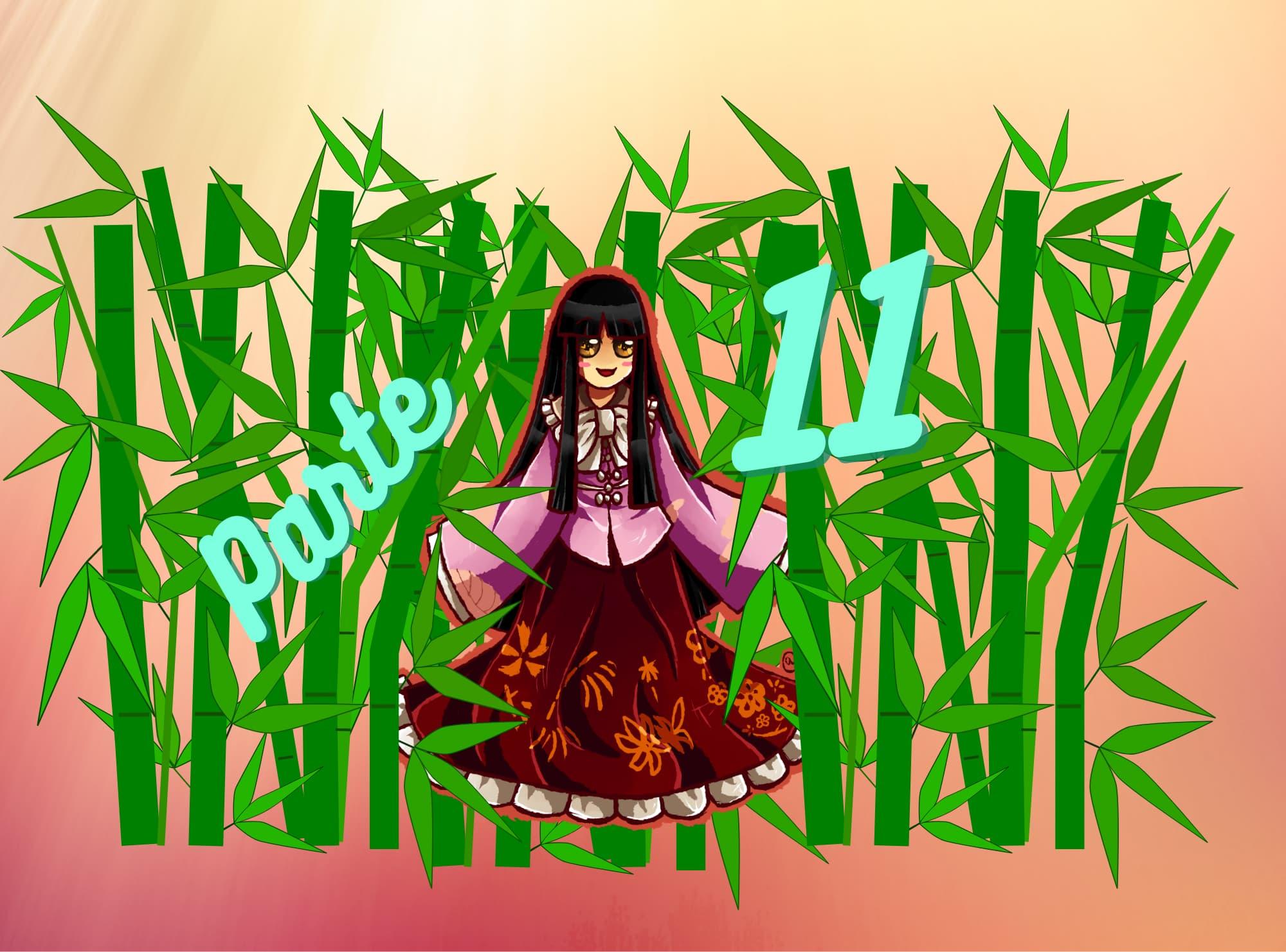 Práctica de lectura N5 de Hiragana: Princesa Kaguya parte 11 (Una princesa triste)