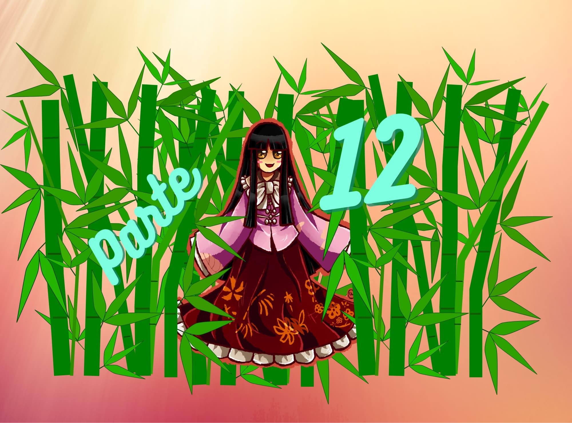Práctica de lectura N5 de Hiragana: Princesa Kaguya parte 12 (La razón)