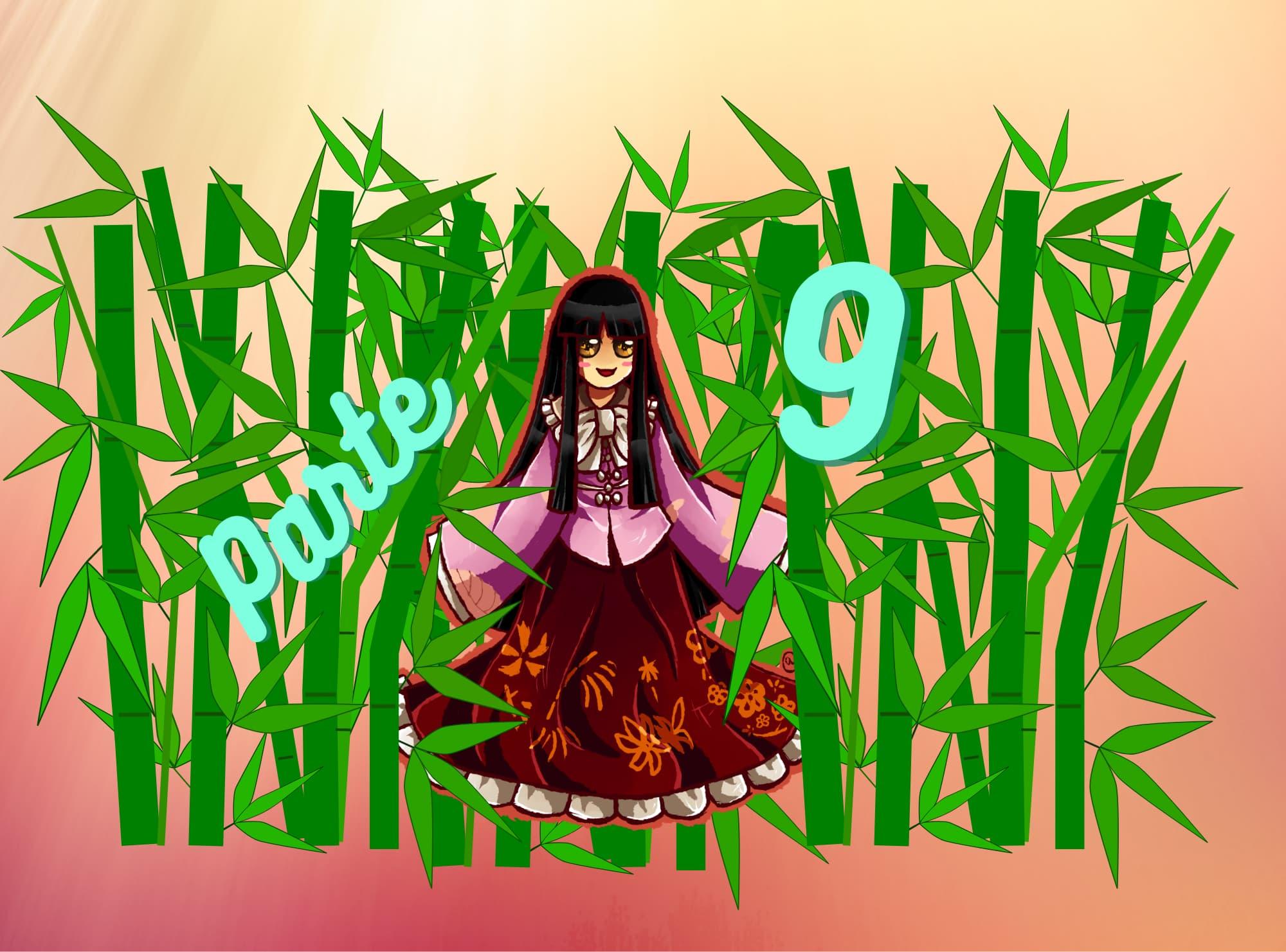 Práctica de lectura N5 de Hiragana: Princesa Kaguya parte 9 (La rabia del dragón)