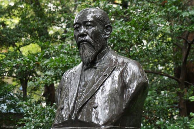 estatua Ito Hirofumi statue periodo taisho