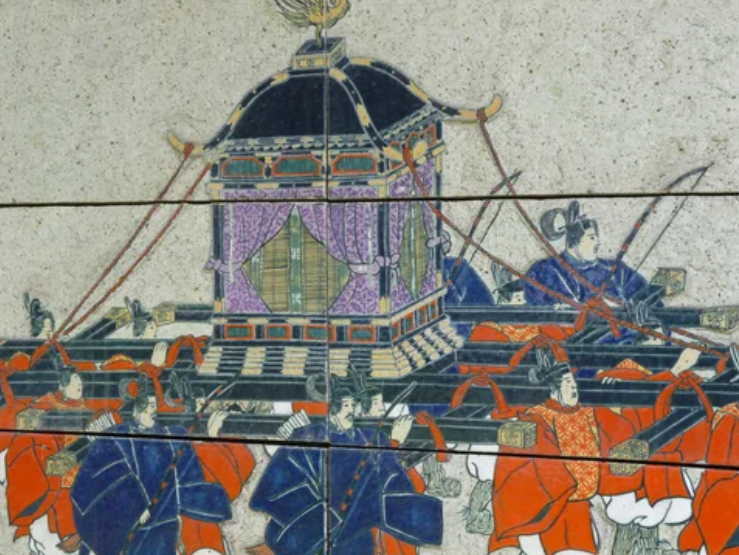 festival tenjin osaka periodo taisho